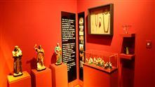 Imagens mostram objetos da exposição permanente no Museu do Folclore