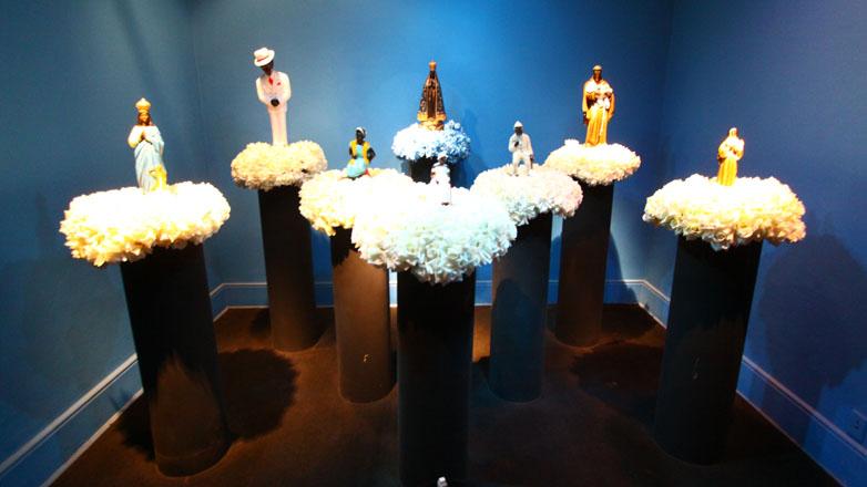 Imagem mostraexposição permanente do Museu do Folclore