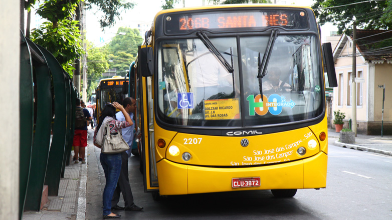O transporte coletivo de São José dos Campos terá horário reforçado neste sábado
