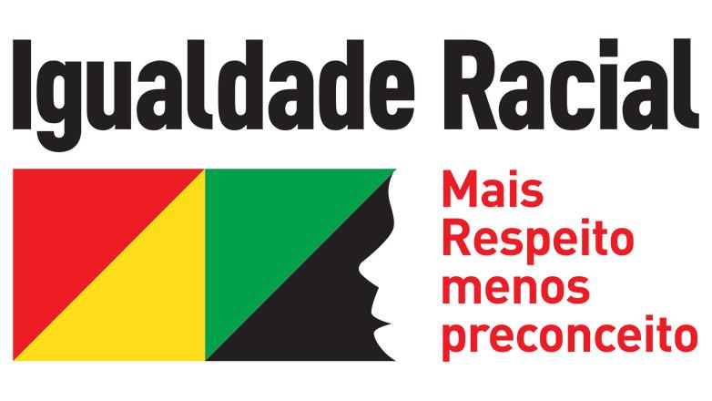 Logo da Campanha da Prefeitura Municipal contra a discriminação racial