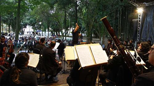 Orquestra no Vicentina