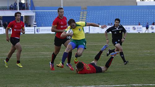 Seleção Brasileira de Rugby na Copa Universitária de Rugby no Estádio Martins Pereira