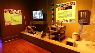 Exposição permanente 'Patrimônio Imaterial: Folclore e Identidade Regional', no Museu do Folclore