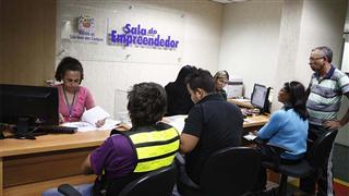 A prefeitura consegui zerar a fila de processos para alvarás de funcionamento em análise na Sala do Empreendedor