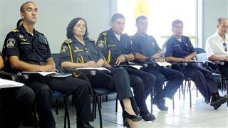 Reunião dos Guardas Civis sobre trabalho unificado