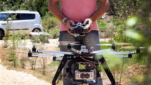 Vista aérea de Sâo José dos Campos feita pelo drone