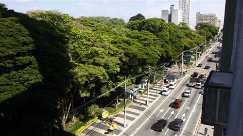 Vista geral da Praça Afonso Pena