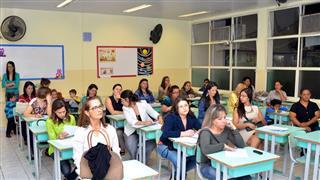 Primeira audiência para o Plano Municipal de Educação, na EMEF Professora Vera Lúcia Carnevalli Barreto, Santana, região norte