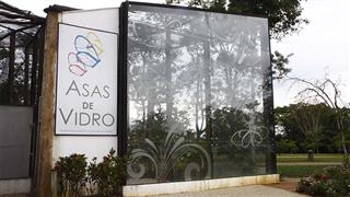 Borboletário Municipal Asas de Vidro, no Parque da Cidade