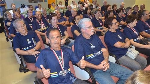 Delegação joseense que disputou o Jori é homenageada no Paço Municipal