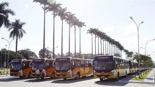 A frota foi modernizada com 29 novos veículos da empresa CS Brasil, em substituição aos modelos mais antigos que atendiam a região leste