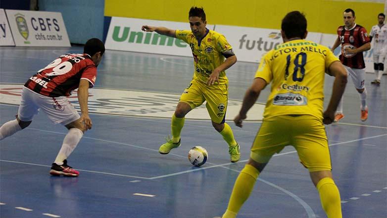 2801894881 São José perde para o Guarapuava na Liga Nacional de Futsal ...