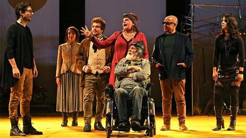 """Espetáculo """"1 Gaivota – É impossível viver sem teatro"""""""