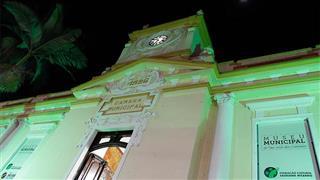 O prédio, onde está o Museu Municipal
