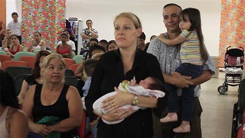 Reunião com as famílias do Bolsa Família no CEFE