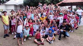 Crianças em evento do ano passado