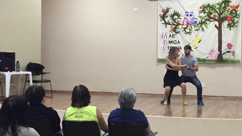 O evento fez parte da programação de encerramento em comemoração ao Dia Mundial da Dança