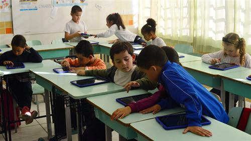 Escolas beneficiadas pelo o programa Escola Interativa