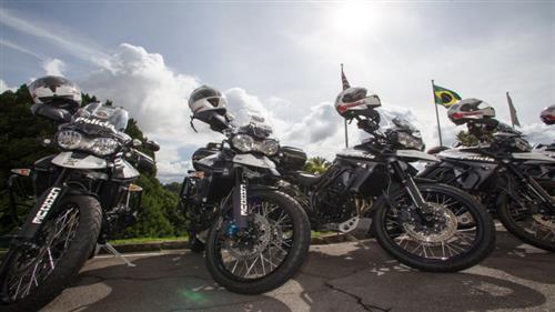 41 motocicletas reforçam a frota da Polícia Militar na cidade