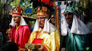 Cortejo dos três reis magos