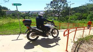 Patrulhamento no Parque Alberto Simões