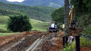 Obras na Estrada Municipal do Guirra