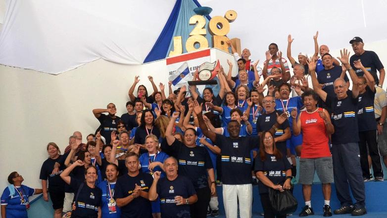 Delegação joseense no Jori de 2016
