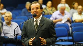 Participantes da audiência na Câmara Municipal