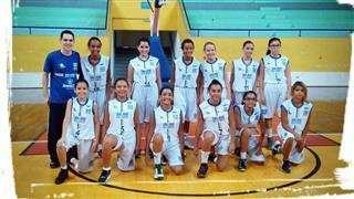 Time de basquete feminino