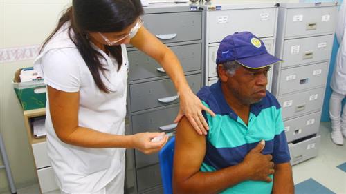 Cerca de 70 mil pessoas já foram vacinadas contra a Influenza