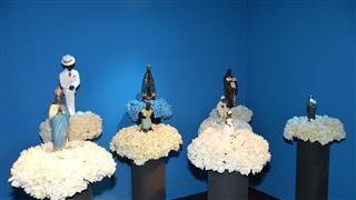Peças em exposição no Museu do Folclore