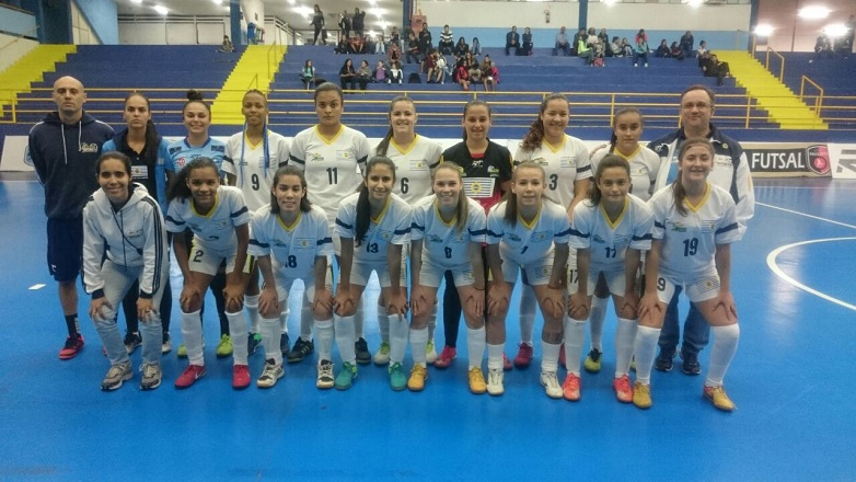 Equipe de futsal feminino