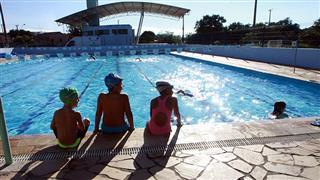 Seletiva de natação realizada no Poliesportivo Altos de Santana