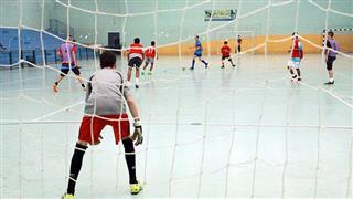 Seletiva de futsal realizada no Poliesportivo Altos de Santana