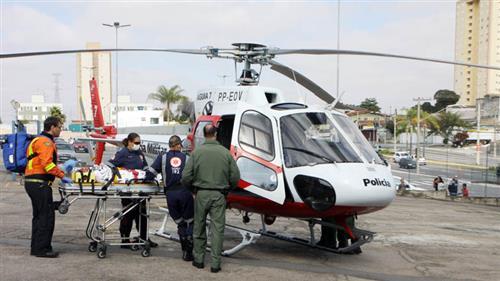 helicóptero Águia da Polícia Militar