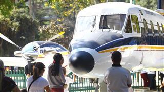 Entrega do avião Bandeirante