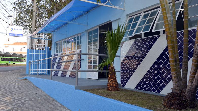 A nova Farmácia Central está instalada na Avenida São José, no prédio onde funcionava o antigo laboratório central da Prefeitura