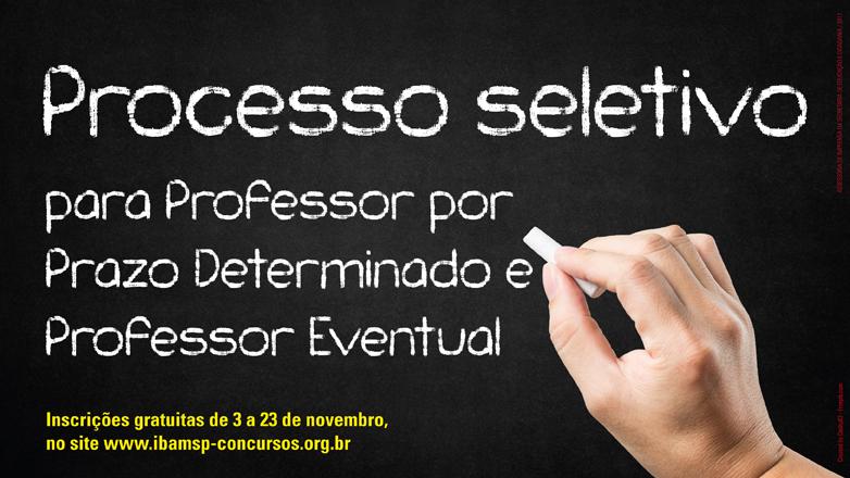 A convocação para a prova será divulgada no site da Prefeitura (www.sjc.sp.gov.br) no dia 1º de dezembro