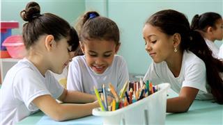 São oferecidas bolsas de estudo para a educação infantil, ensino fundamental e médio, além de cursos de inglês e pré-vestibulares