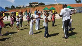 Moradores participam das atividades