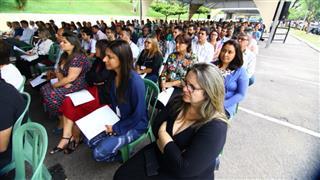 O evento foi conduzido pelo diácono Jovino Resende Neto, da Paróquia São João Bosco e pelo pastor Fabiano Ribeiro, da Igreja da Cidade